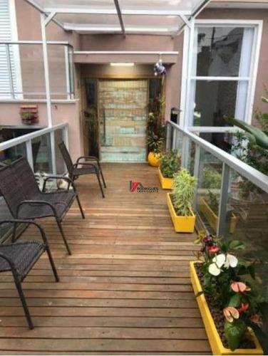 casa residencial à venda, jardim paulista, atibaia. - ca1672