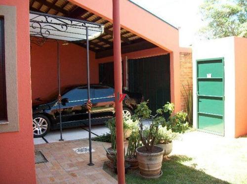 casa residencial à venda, jardim paulista, atibaia. - ca1676