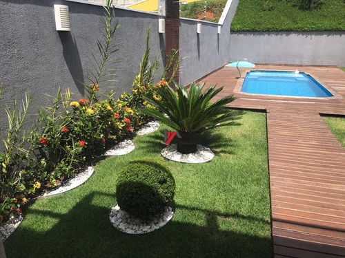 casa residencial à venda, jardim paulista, atibaia. - ca1724