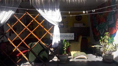 casa residencial à venda, jardim paulista, são josé dos campos. - ca1353