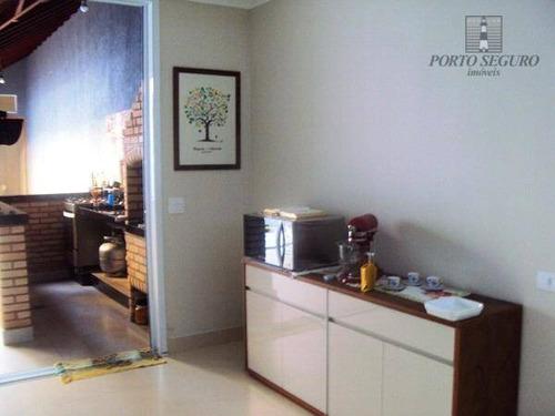casa residencial à venda, jardim paulistano, americana. - ca0256