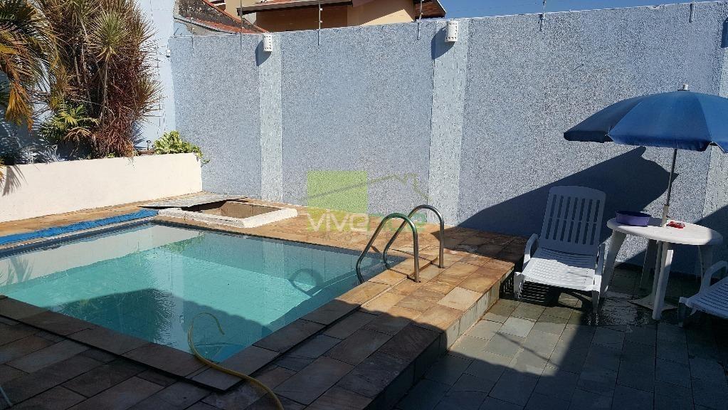 casa residencial à venda, jardim proença, campinas. - ca0046