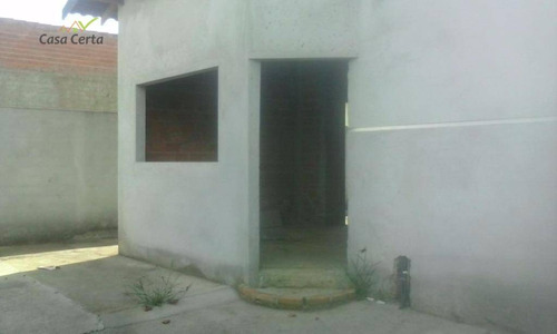 casa residencial à venda, jardim santa cruz, mogi guaçu. - ca0382