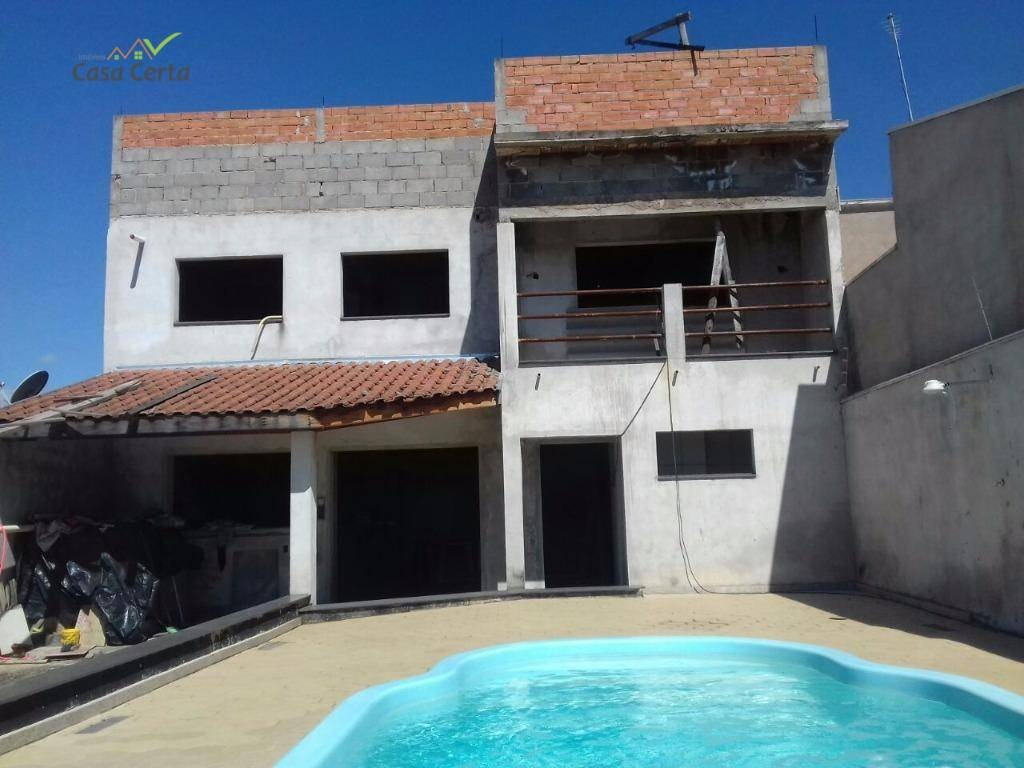 casa residencial à venda, jardim santa cruz, mogi guaçu. - ca0424
