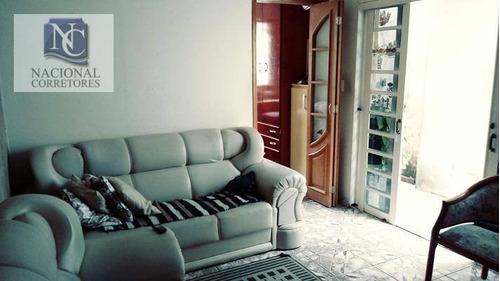 casa  residencial à venda, jardim santo alberto, santo andré. - ca1461