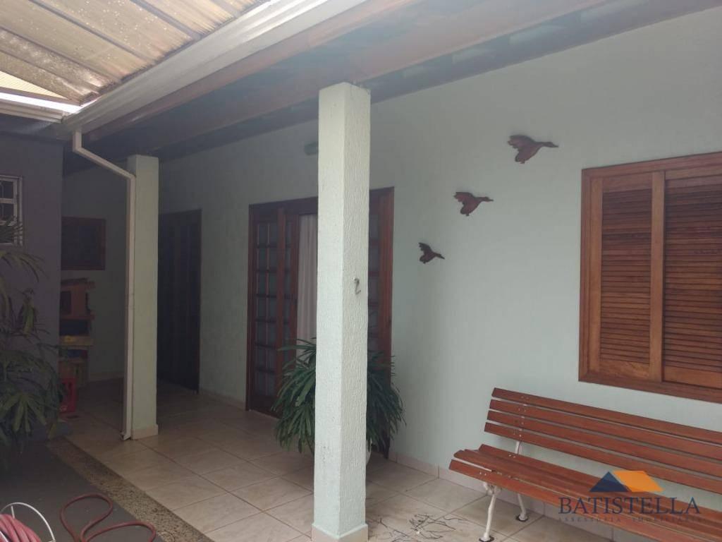 casa residencial à venda, jardim santo andré, limeira - ca0167. - ca0167