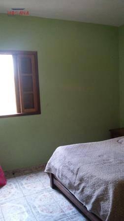 casa residencial à venda, jardim santo antônio, francisco morato. - ca0165