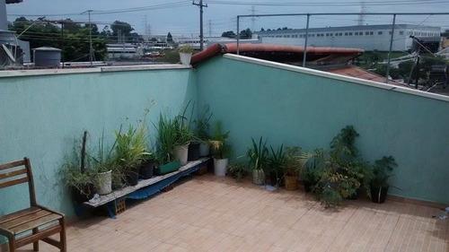 casa residencial à venda, jardim sônia maria, mauá. - ca0062
