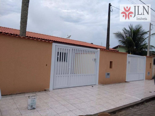 casa residencial à venda, jardim são fernando, itanhaém - ca0332. - ca0332