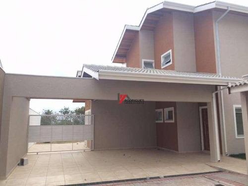 casa  residencial à venda, jardim são nicolau, atibaia. - ca0768