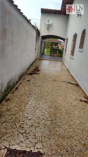casa residencial à venda, jardim suarão, itanhaém. - ca0061