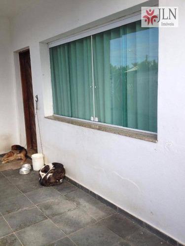 casa  residencial à venda, jardim suarão, itanhaém. - ca0247