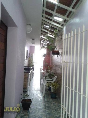casa residencial à venda, jardim suarão, itanhaém. - ca3273