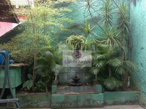 casa residencial à venda, jardim zaira, mauá. - ca0169