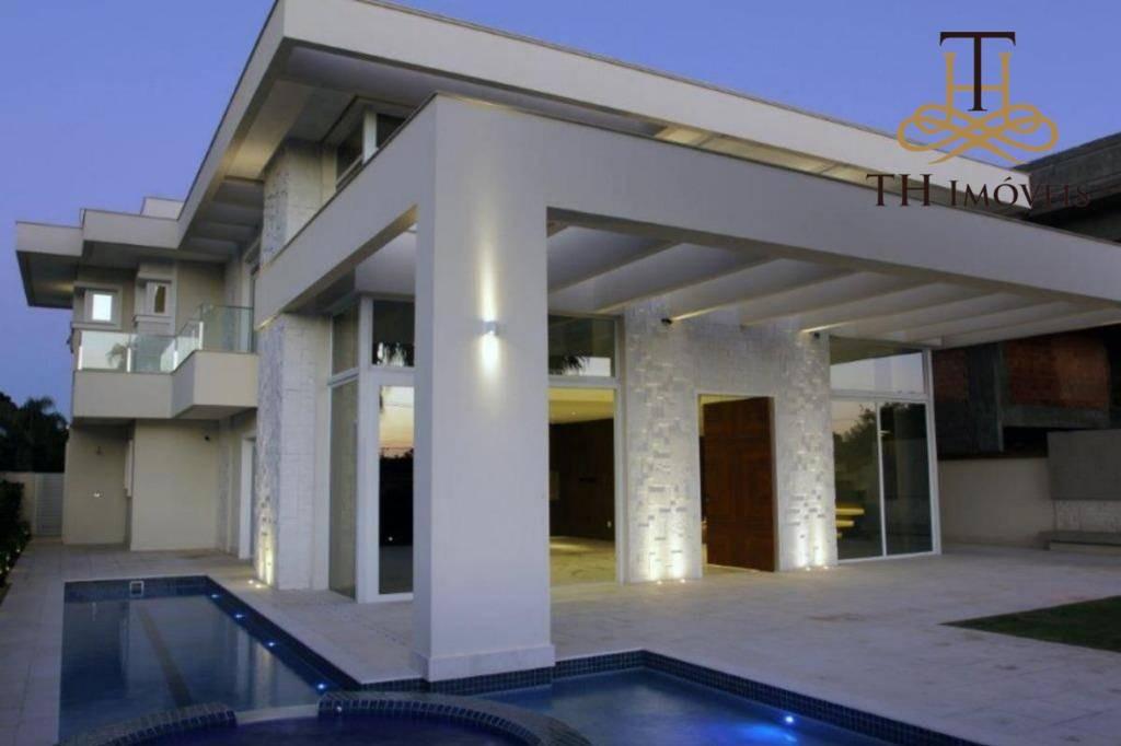 casa residencial à venda, jurerê internacional, florianópolis. - ca0042