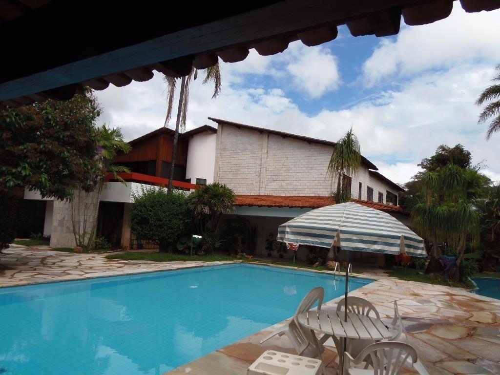 casa residencial à venda, lago norte, brasília. - ca1768