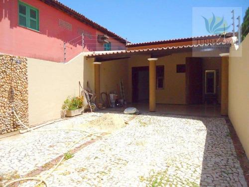 casa residencial à venda, lagoa redonda, fortaleza. - ca0481