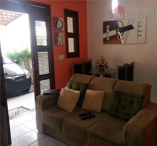 casa  residencial à venda, lagoinha, eusébio. - ca0181