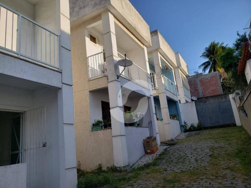 casa residencial à venda, laranjal, são gonçalo. - ca1641