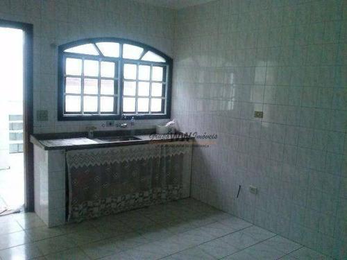 casa residencial à venda, lauzane paulista, são paulo. - ca0261