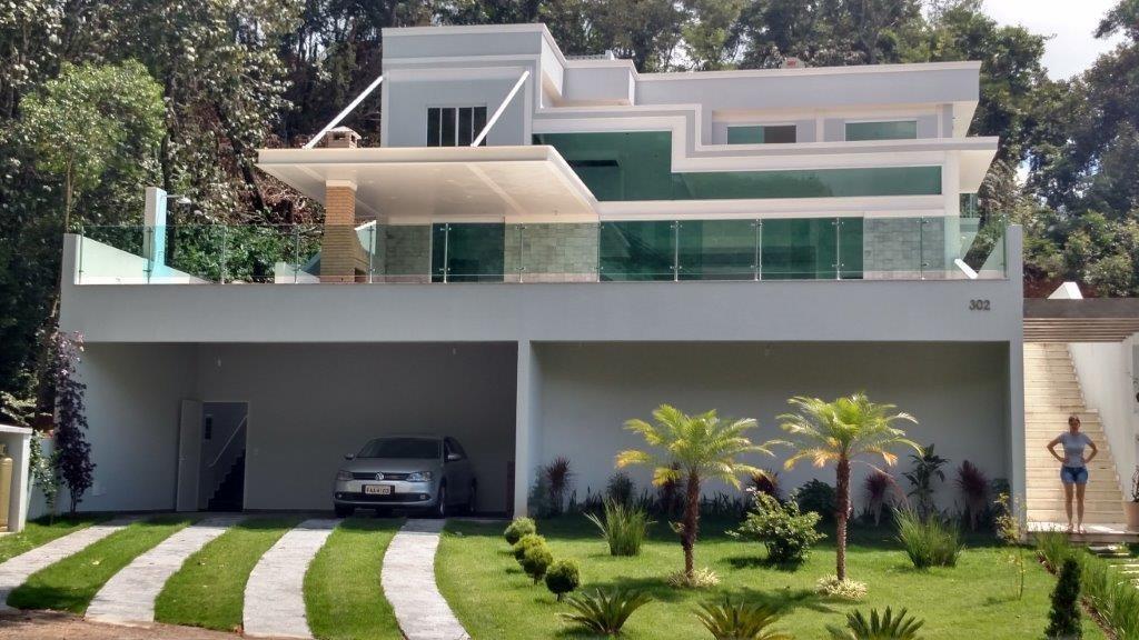 casa residencial à venda, loteamento capital ville, jundiaí. - ca1056