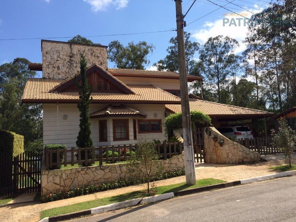 casa  residencial à venda, loteamento fechado shamballa i, atibaia. - ca0331