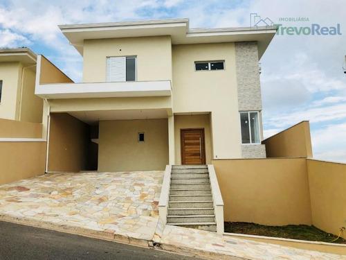 casa residencial à venda, loteamento residencial santa gertrudes, valinhos. - ca1229