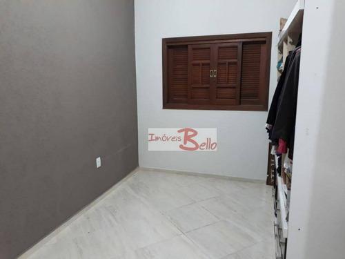 casa residencial à venda, loteamento residencial terra nova, itatiba. - ca1038