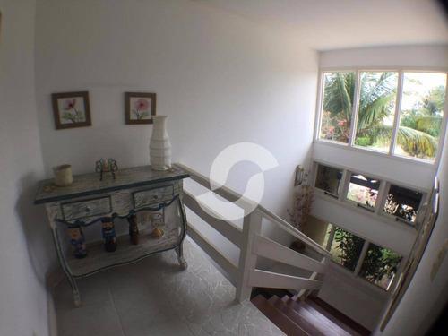 casa residencial à venda, manguinhos, armação dos búzios. - ca0415