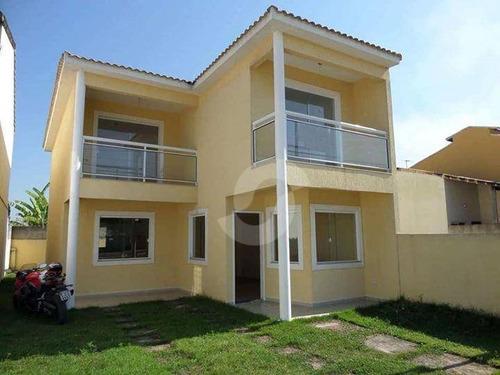 casa residencial à venda, manilha, itaboraí. - ca1299