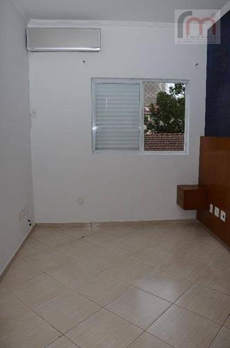 casa residencial à venda, marapé, santos - ca0167. - ca0167