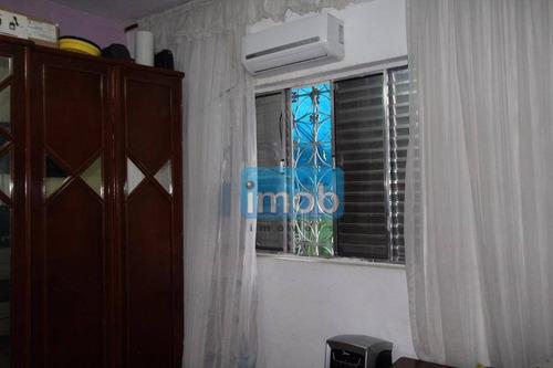 casa residencial à venda, marapé, santos. - ca0351