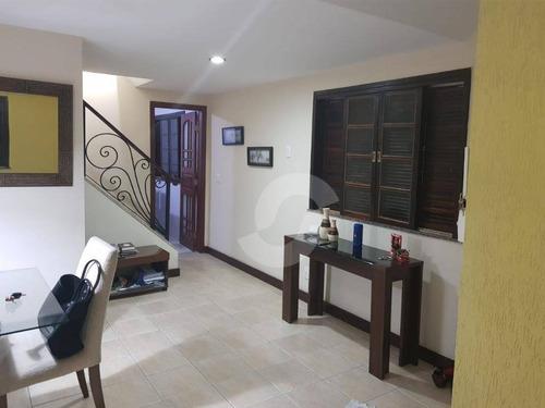 casa residencial à venda, maravista, niterói. - ca0586