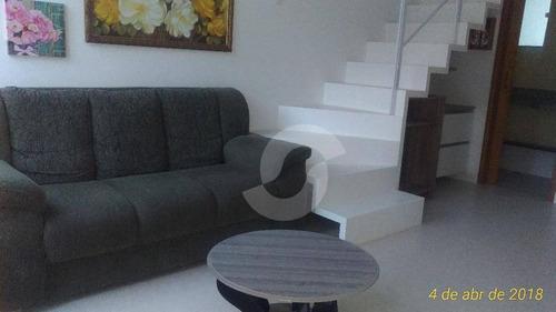 casa residencial à venda, maravista, niterói. - ca1028