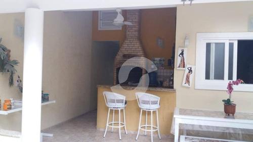 casa residencial à venda, maravista, niterói. - ca1579