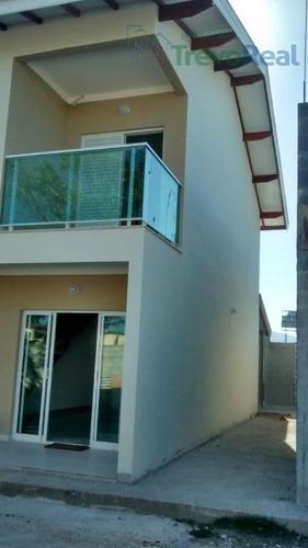 casa residencial à venda, massaguaçu, caraguatatuba. - ca1128