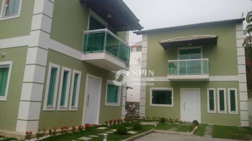 casa residencial à venda, mata paca, niterói. - ca0013