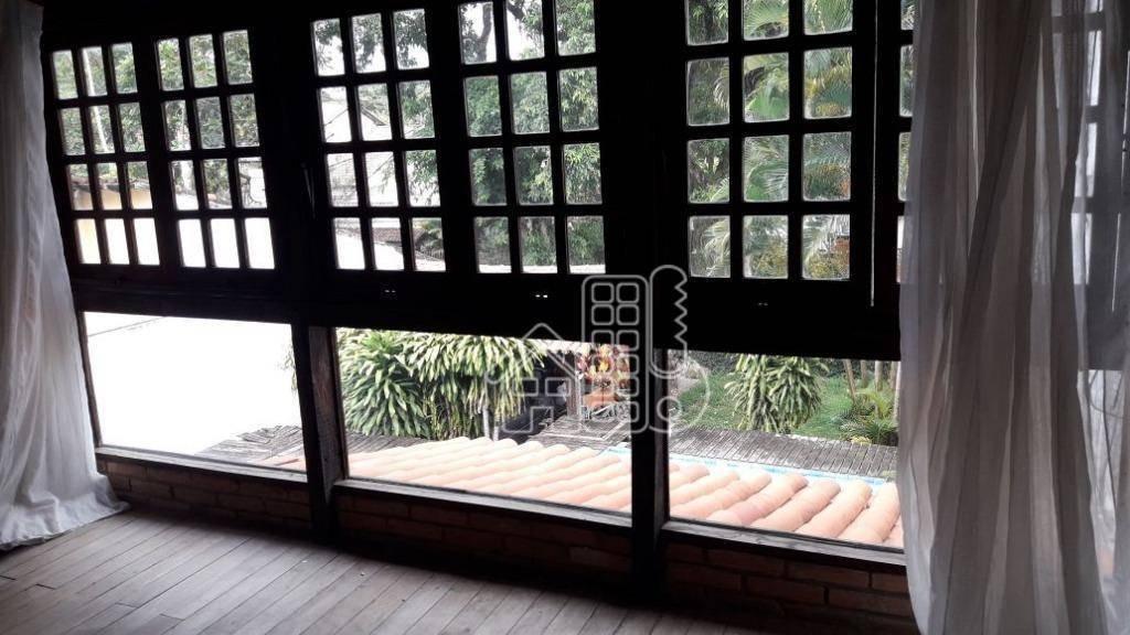 casa residencial à venda, mata paca, niterói. - ca0642