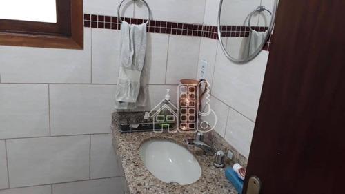 casa residencial à venda, mata paca, niterói. - ca0646