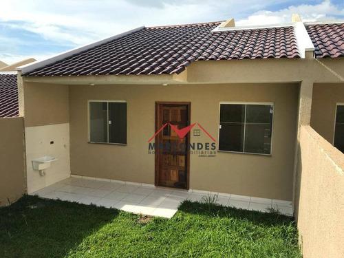casa residencial à venda, nações, fazenda rio grande. - ca0137