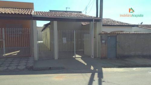 casa residencial à venda, nova araçoiaba, araçoiaba da serra. - ca0297