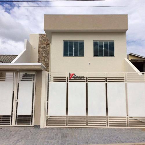 casa residencial à venda, nova cerejeira, atibaia. - ca1003