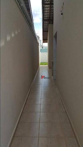 casa residencial à venda, nova cerejeira, atibaia. - ca1141