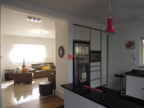 casa residencial à venda, nova gardênia, atibaia. - ca1637