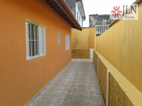 casa  residencial à venda, nova itanhaém, itanhaém. - ca0205