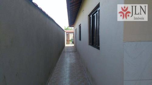 casa residencial à venda, nova itanhaém, itanhaém. - ca0325