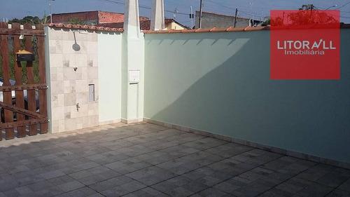 casa residencial à venda, nova itanhaém, itanhaém. - ca0785