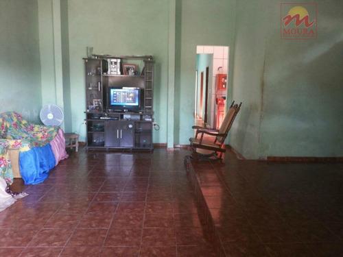 casa residencial à venda, novo buritizal, macapá. - ca0229
