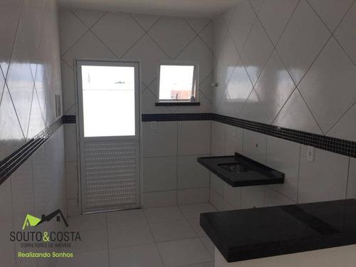 casa residencial à venda, novo oriente, maracanaú. - ca0211