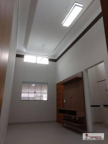 casa residencial à venda, palmital, marília. - ca0355